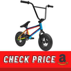 Sullivan Ambush Mini BMX Neo ChromeBlack, Stunt Bike, Freestyle Mini BMX, for Kids of All Ages