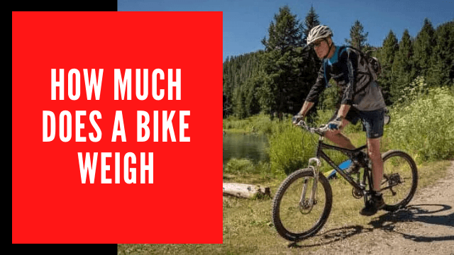 How Much Does A Bike Weigh